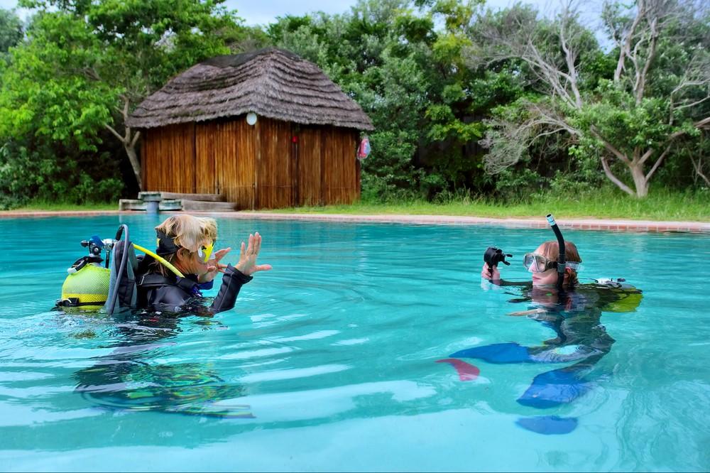 Pool Based Diver Training