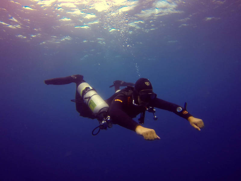 Advanced Open Water Diver to Instructor